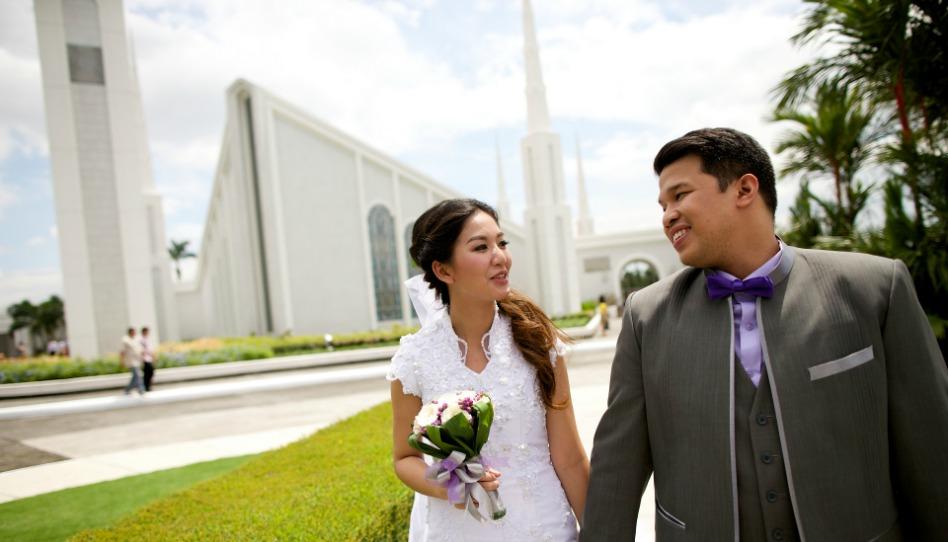 摩爾門聖殿婚姻