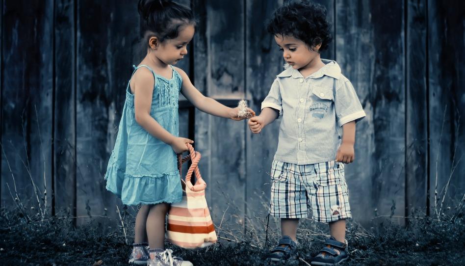孩子的生活 很快樂
