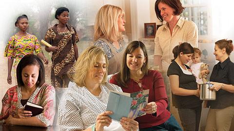 慈助會的婦女