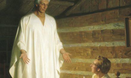奧利佛‧考德里描述先知的禱告詞