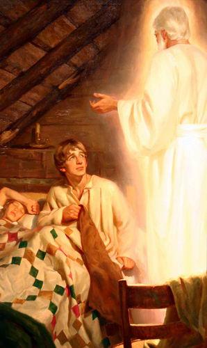 天使摩羅乃顯現