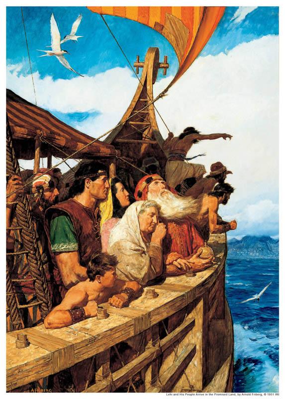 李海一家人前往新大陸