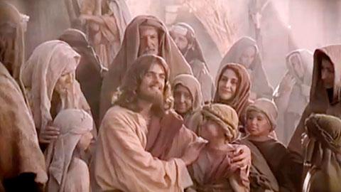 耶穌教導彼此相愛