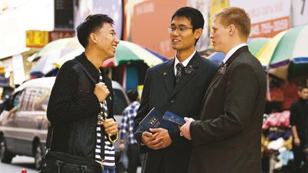 摩爾門傳教士擁有說方言的恩賜