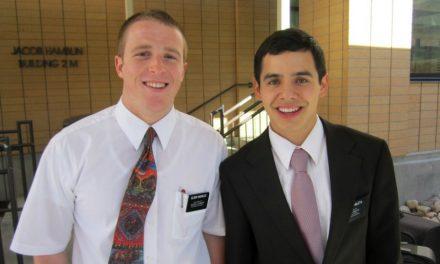 陽光大衛──即將自摩爾門傳教事工返鄉