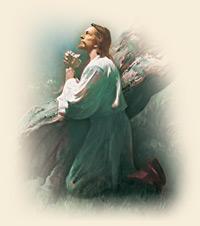 耶穌基督向天父祈禱