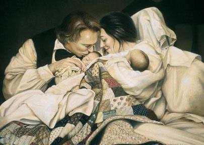 愛瑪和約瑟斯密有許多孩子