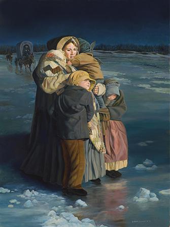 愛瑪要常常面對暴徒的迫害