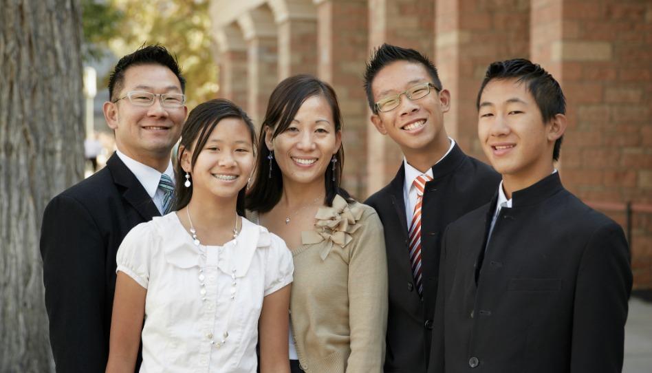 摩爾門教徒重視家庭