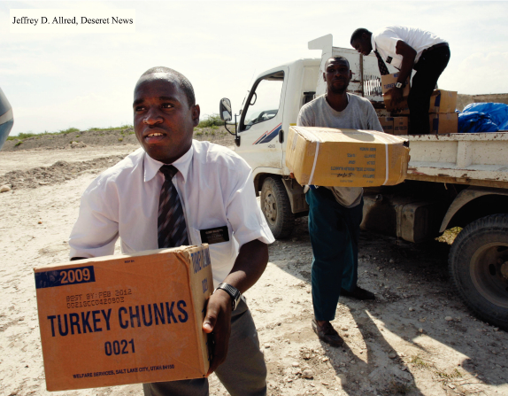 教會人道救援工作