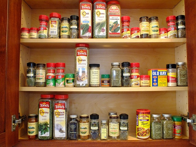 食物儲藏:香料讓你的食物更加美味