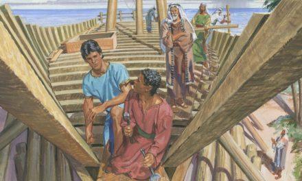 從摩爾門經看尼腓造船的故事