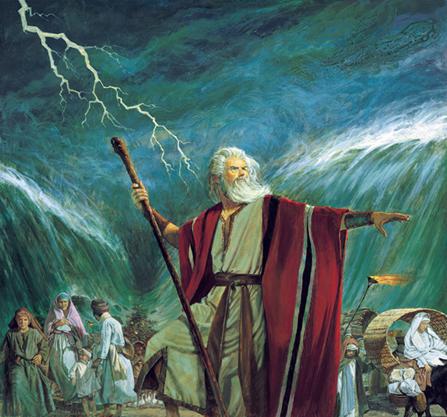 摩西分開紅海