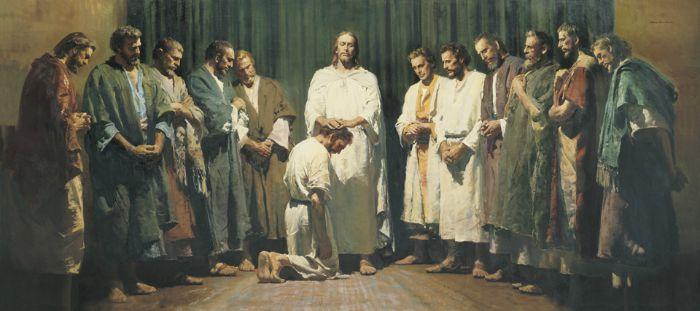 基督按立十二使徒