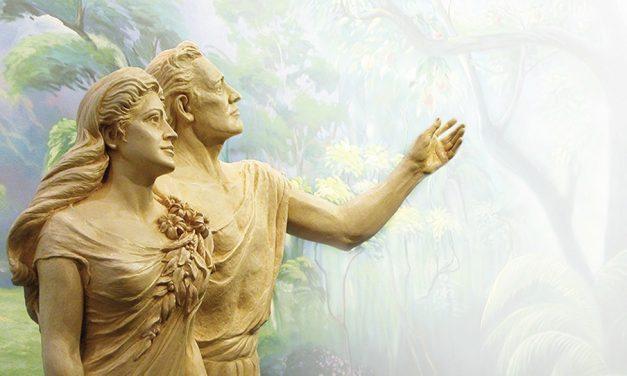 後期聖徒教會教導亞當和夏娃時對進化論的看法